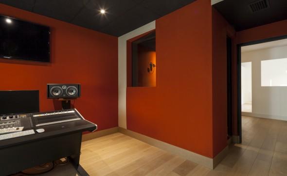 création d'un studio d'enregistrement pour le label entreprise à paris par gsma architecture